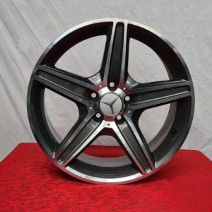 Cerchi Classe C 17 Mercedes F509 523 Antracite Diamantato