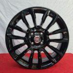 Cerchi 500 16 Originali Fiat Nero Lucido