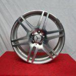 Cerchi Mercedes Classe C Doppia Misura 18 F811 Silver Diamantato
