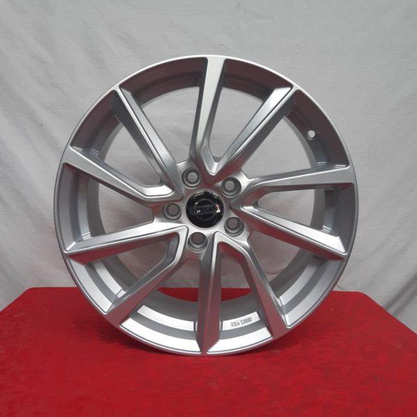Cerchi Nissan Qashqai 17 AC-518 Hyper Silver