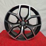 Cerchi Giulietta 18 Originali Alfa Romeo Diamante Nero Lucido Diamantato (Singolo)