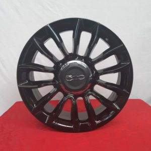 Cerchi 500L 16 Originali Fiat Nero Lucido
