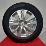 Cerchi Peugeot 3008 17 Originali e Pneumatici Michelin Primacy4 215 65