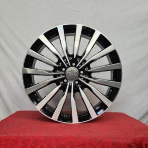 Cerchi Audi Q5 20 Mak Kron Nero Diamantato