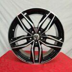 Cerchi Volkswagen Golf 17 Mak Sarthe Nero Diamantato
