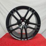 Cerchi in lega Maserati Ghibli Doppia Misura 20 Nero Opaco Originali