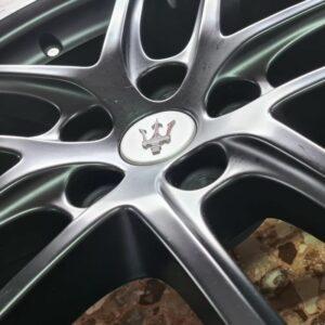 Cerchi in lega Maserati Ghibli Doppia Misura 20 Nero Opaco