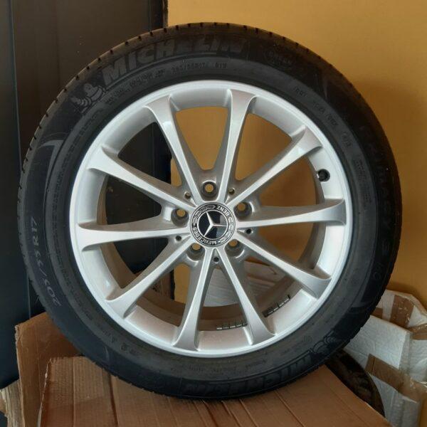 Cerchi in lega Classe A 17 Originali Mercedes e Pneumatici Michelin Primacy3 205 55