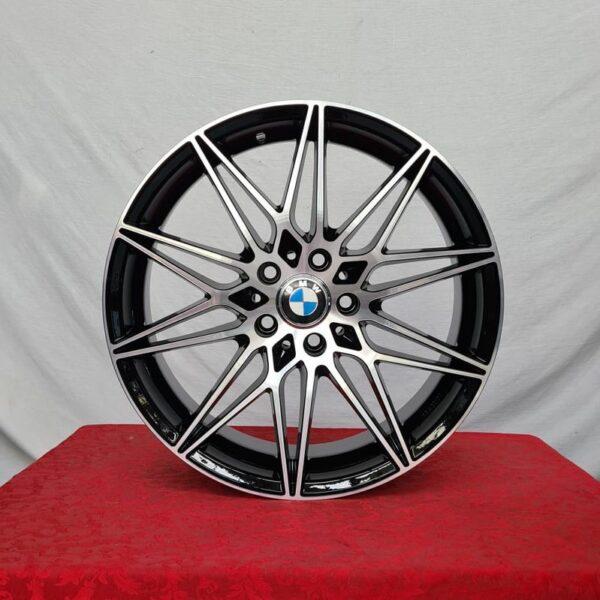 Cerchi Bmw X3 18 ACMB5 Nero Diamantato